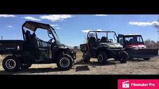 1. NEW 2018 Mahindra Retriever 1000 cc / 83 HP Gas UTV