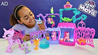 Hi friends:)I really loved playing with the My Little Pony movie toys. They are so cute and we had lots of fun playing with the Seashell Lagoon playset and all the different accessories for Pinkie Pie. I'm super excited for the My Little Pont movie too! For more fun and games, check out the My Little Pony PopJam (@MyLittlePony)!Thanks to Hasbro and My Little Pony for sponsoring this video and sending these super cool toys. You can check out the My Little Pony Movie trailer her - http://bit.ly/2vV0XSE Check out the My Little Pony websites for more games, friendship lessons and movie updates:My Little Pony club - http://bit.ly/2voW1E5My Little Pony website - https://goo.gl/i5UzCjMy second Rainbow Magic book is OUT NOW!It's called Tiana the Toy Fairy: The Land of Sweets is OUT NOW!Click the link below if you wish to buy it!http://amzn.to/2pBepVV2nd Channel Famtastic👇🏾▶︎ https://www.youtube.com/channel/UC8Nw...PopJam▶︎ https://goo.gl/HK43GxToys AndMe T Shirts: https://www.noisysauce.com/tiana-toys...Snowflakes Links:)iTunes - http://apple.co/2fonSd4Spotify - http://bit.ly/spotifyTTSFKAmazon Music - http://amzn.to/2f8eWuITiana the Toy Fairy:)Amazon store - http://amzn.to/2fkEYrtHi friends, you can send me mail here :)Toys And MePO Box 10496NOTTINGHAMNG13 8QWMY INSTAGRAM▶︎ https://instagram.com/toys_andme/GOOGLE▶︎https://plus.google.com/b/10584862616...Toy in other Languages: खिलौने, brinquedos, ของเล่น, اللعب, igračke, đồ chơi, oyuncaklar, leksaker, juguetes, играчке, игрушки, jucării, тоглоом, leker, اسباب بازی, zabawki, 장난감, トイズ, giocattoli, mainan, játékok, צעצועים, Hračky, legetøj, speelgoed, laruan, jouets, Spielzeug, ΠαιχνίδιαToys Andme is a fun channel where i do Toy reviews and unboxing, Games and challenges.Trips and fun activities and more,i love kids YouTube Channels so i asked my dad too help me make my own! so guys can you please LIKE-COMMENT-SUBSCRIBE to my channel.