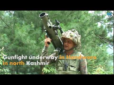 Gunfight underway in Handwara in north Kashmir