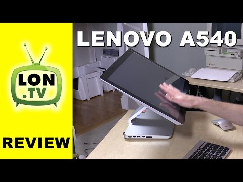 Lenovo a540 Review - Attractive All-in-one touchscreen Desktop PC with i7 Processor