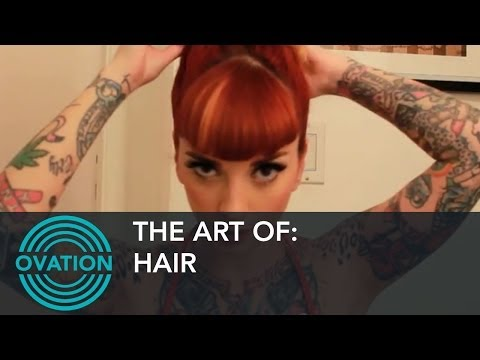Hair - How to Create a Vintage Hair Style (Exclusive)