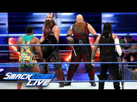 Big E & Jimmy Uso vs. The Bludgeon Brothers: SmackDown LIVE, March 13, 2018