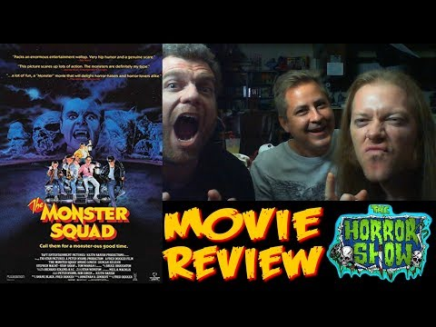 """The Monster Squad"" 1987 Movie Review (featuring The Death Twitch) - The Horror Show"