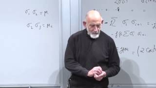 Statistical Mechanics Lecture 9