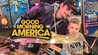 Good Morning America Avery Drummer