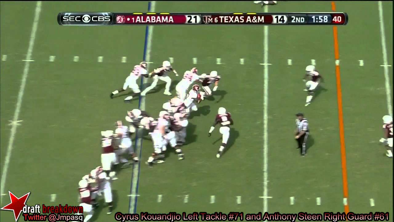 Anthony Steen vs Texas A&M (2013)