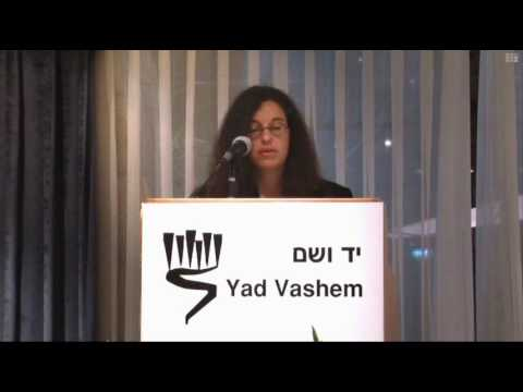 Remarks by Ms. Richelle Budd Caplan, Director, European Department, International School for Holocaust Studies, Yad Vashem [03:56 min]