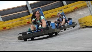 Kissimmee (FL) United States  city photos gallery : Fun Spot USA The Vortex Go Karts POV and Off Ride Shots Kissimmee Florida