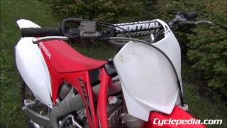 5. 2012 Honda CRF250R Online Repair Manual by Cyclepedia