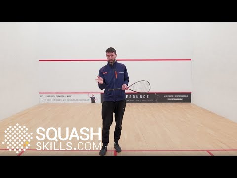 Squash tips: Hadrian Stiff discusses the mentality of shot execution