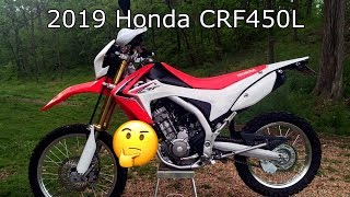 5. UPDATE: 2019 Honda CRF450L MID 40s HP!