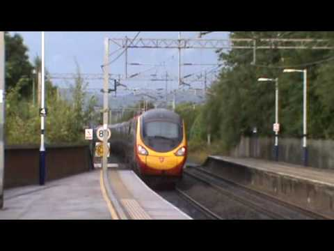 Pendolino fast and Wet !