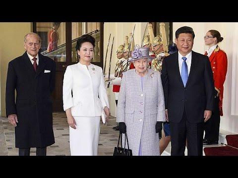 Βρετανία: Με επισημότητα η υποδοχή του Προέδρου της Κίνας στο Λονδίνο
