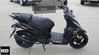 2. Hot News !!! 2018 KYMCO Super 8  spec & price