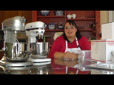 Amy's KitchenAid Stand Mixer Accessories for the 5 and 6 Quart – Unboxing and Review