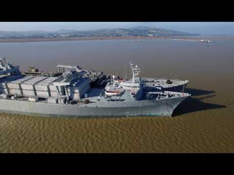 Suisun Bay Reserve Fleet: Mothball fleet