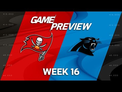 Video: Tampa Bay Buccaneers vs. Carolina Panthers | NFL Week 16 Game Preview | NFL Playbook