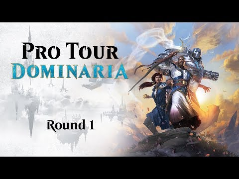 Pro Tour Dominaria Round 1 (Draft): Luis Scott-Vargas Vs. Joshua Vitullo
