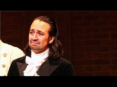 The Hamilton Cast Moves Lin-Manuel Miranda to Tears With Their 2017 Oscars Red Carpet Surprise