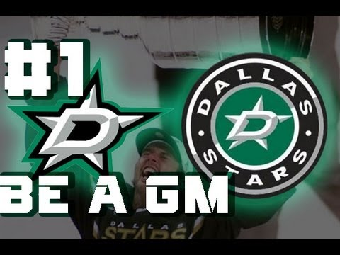 NHL 14 Be A GM Part 1 (Drafting The Young Stars) [HD]
