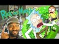 RICK and MORTY Cartoon Impressions | Stewdippin