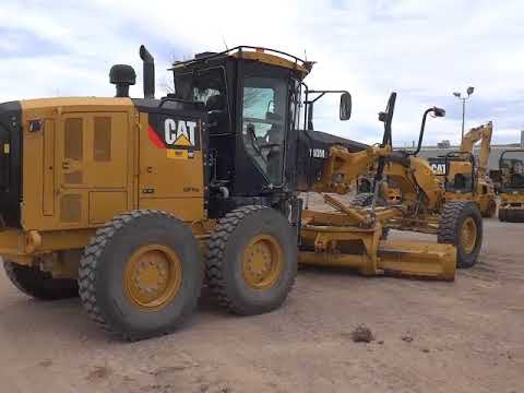 CATERPILLAR NIVELEUSES 140M2 equipment video ATIpd0t-7qM