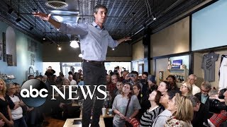 Beto O'Rourke visits Iowa after announcing 2020 run for US president