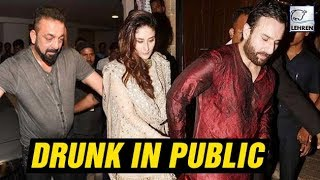 Video Bollywood Actors Caught DRUNK In Public | Kareena Kapoor, Sanjay Dutt | LehrenTV MP3, 3GP, MP4, WEBM, AVI, FLV September 2018