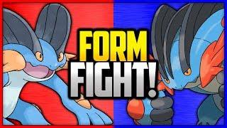 Swampert vs Mega Swampert | Pokémon Form Fight by Ace Trainer Liam