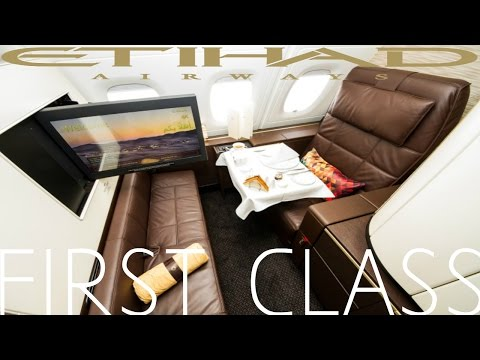 Etihad FIRST CLASS Apartment Abu Dhabi To London|Airbus A380 (+Lounge)