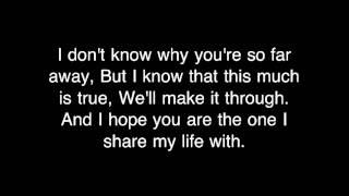 Daniel Bedingfield - If You're Not The One [HQ with Lyrics] Video