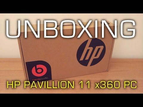 HP Pavillion 11 x360 PC Unboxing