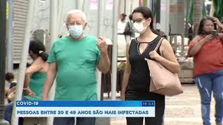 Covid-19: pessoas com idades entre 20 e 49 anos são as mais infectadas hoje