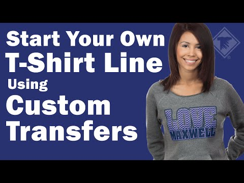 how to setup your own t-shirt business