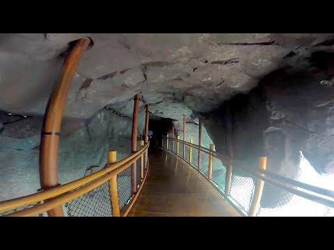 Inside Krakatau mountain at Volcano Bay water park, Universal Orlando (видео)
