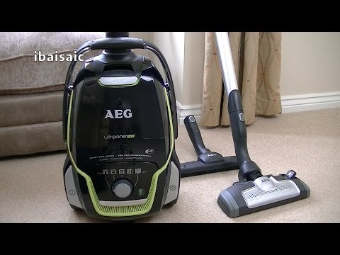 AEG Electrolux UltraOne Green Cylinder Vacuum Cleaner Review & Demonstration