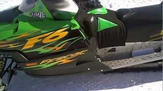 2. LOT 1512A 2004 Arctic Cat F6 Firecat 600 Sno Pro Carb 3206 Miles NICE