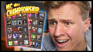 I Put The MC CHAMPIONSHIP YouTubers In A Hunger Games And This Happened...