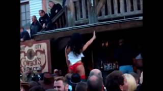 US-Car Gigantentreffen Pullman City 2012 Miss Wet T-Shirt.wmv