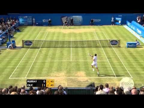 Murray - Watch highlights from Sunday's final at the Aegon Championships in London, featuring top seed Andy Murray vs. defending champion Marin Cilic. Video courtesy ...
