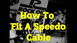2. How to Fit a Speedo Cable on your motorbike/motorcycle