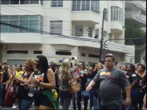 Pra não dizer que não falei das flores/ Rio, passeata dos professores
