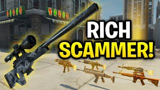Video The Richest Scammer Ever Scams Himself! (Scammer Get Scammed) Fortnite Save The World MP3, 3GP, MP4, WEBM, AVI, FLV Oktober 2018