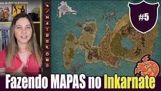 Nesse vídeo vamos fazer um mapa para RPG! Vamos usar o inKarnate. O Inkarnate é um site que traz um editor de mapas muito bonito e fácil de usar, mesmo para usuários que não estão acostumados com Photoshop ou outros editores de imagens. O foco do programa está em mapas de áreas grandes em cenários de fantasia medieval - é possível desenhar regiões grandes, como feudos, reinados ou até continentes.A Lina fez uma breve demonstração da ferramenta!
