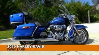 9. Used 2010 Harley-Davidson FLHR Road King Motorcycles for sale Mesa Tampa