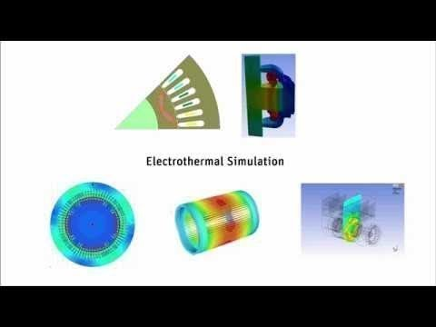 ANSYS Electronics Desktop: Motor Design Based on Electromagnetic and CFD Coupling