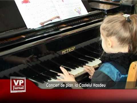 Concert de pian, la Castelul Hasdeu