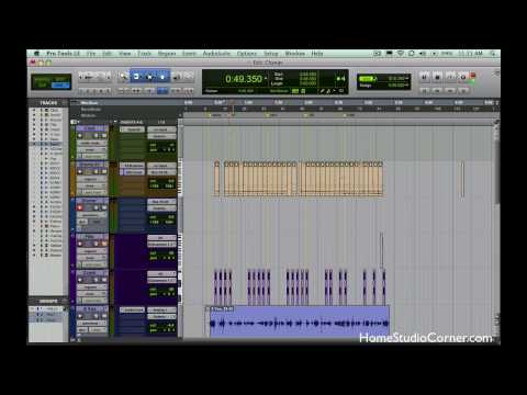 Printing Effects and Instruments in Pro Tools