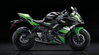 8. Kawasaki Ninja 650 ABS 2017