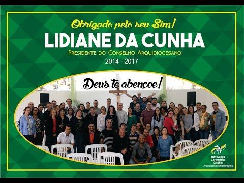 Vídeo de Homenagem para Lidiane da Cunha